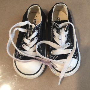 Toddler boys converse sneakers.